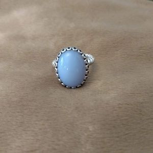 Pandora Chalcedony forever friends ring